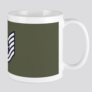 USAF: TSgt E-6 (Green) 11 oz Ceramic Mug