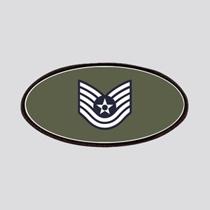USAF: TSgt E-6 (Green) Patch