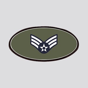 USAF: SrA E-4 (Green) Patch