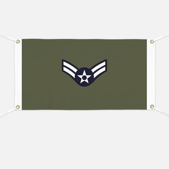 USAF: A1C E-3 (Green) Banner