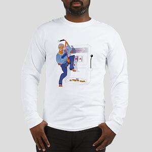 Gambling Grandpa Long Sleeve T-Shirt