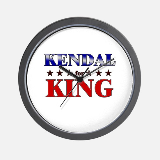 KENDAL for king Wall Clock