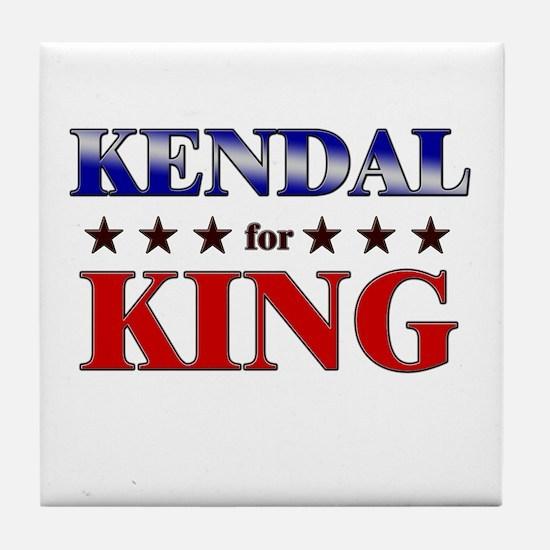 KENDAL for king Tile Coaster