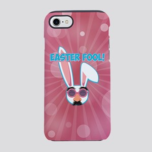 Easter Fool Bunny with Grouc iPhone 8/7 Tough Case