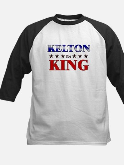 KELTON for king Kids Baseball Jersey