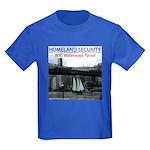 U.S.S. Homeland Security Kids Dark T-Shirt