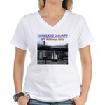 U.S.S. Homeland Security Women's V-Neck T-Shirt