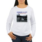 U.S.S. Homeland Security Women's Long Sleeve T-Shi