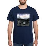 U.S.S. Homeland Security Dark T-Shirt