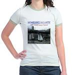 U.S.S. Homeland Security Jr. Ringer T-Shirt