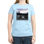 U.S.S. Homeland Security Women's Light T-Shirt