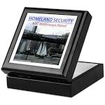 U.S.S. Homeland Security Keepsake Box