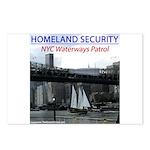 U.S.S. Homeland Security Postcards (Package of 8)