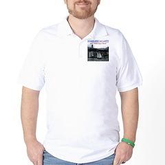 U.S.S. Homeland Security Golf Shirt