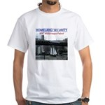U.S.S. Homeland Security White T-Shirt