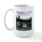 U.S.S. Homeland Security Large Mug