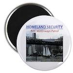U.S.S. Homeland Security Magnet