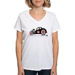 ROD SHOP Women's V-Neck T-Shirt
