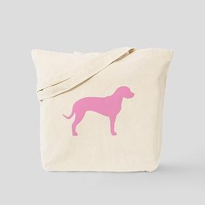 Pink Catahoula Tote Bag