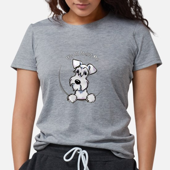 White Schnazuer IAAM Women's Dark T-Shirt