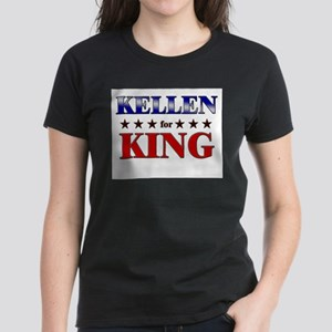 KELLEN for king Women's Dark T-Shirt