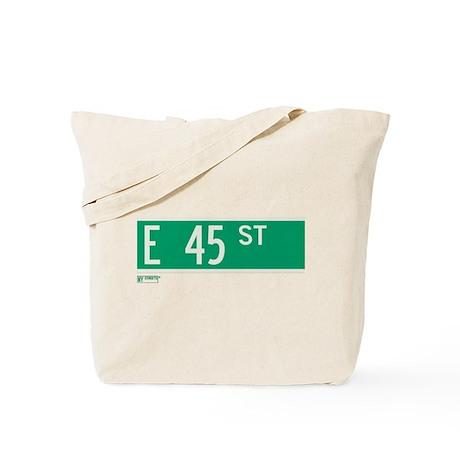 45th Street in NY Tote Bag