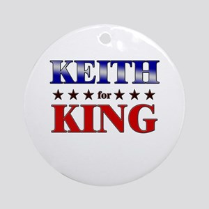 KEITH for king Ornament (Round)