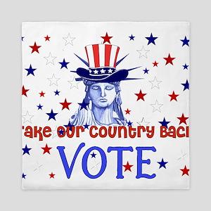 Vote Democratic Queen Duvet