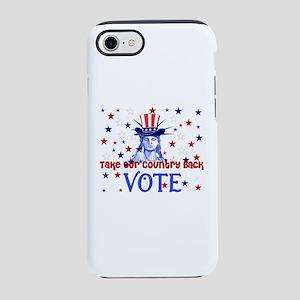 Vote Democratic iPhone 8/7 Tough Case