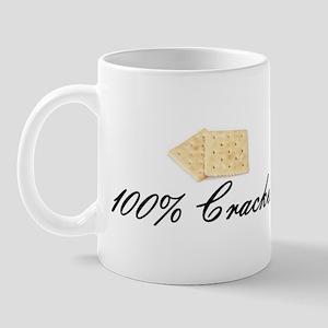 100% Cracker Mug