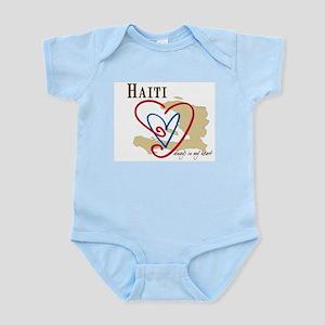 Always In My Heart Infant Bodysuit/Haiti