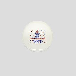 Vote Democratic Mini Button