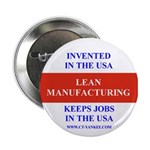 Lean Manufacturing Button (10 pack)