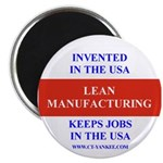 Lean Manufacturing Magnet