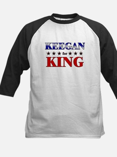 KEEGAN for king Kids Baseball Jersey
