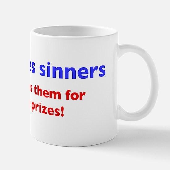 """Jesus saves..."" Mug"
