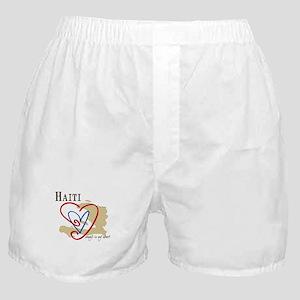 Always In My Heart Boxer Shorts/Haiti