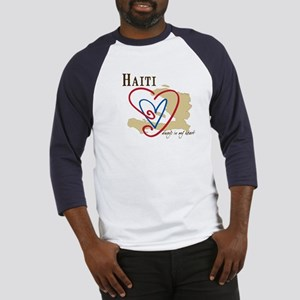 Always In My Heart Baseball Jersey/Haiti