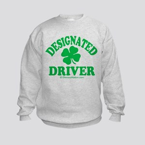 Designated Driver 1 Kids Sweatshirt