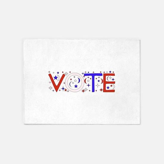 Vote 5'x7'Area Rug