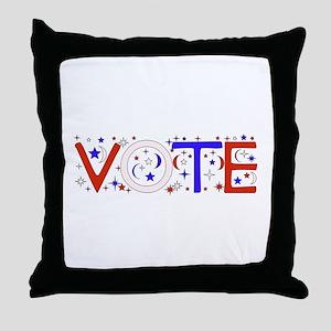 Vote Throw Pillow