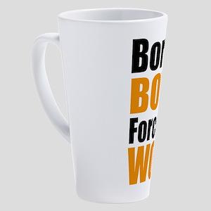 bowling 17 oz Latte Mug