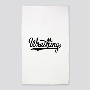 Wrestling Area Rug