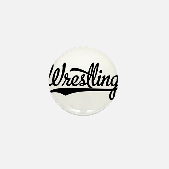 Wrestling Mini Button