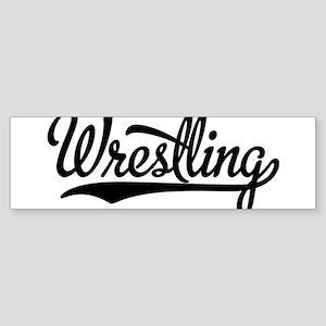 Wrestling Bumper Sticker