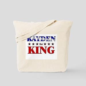 KAYDEN for king Tote Bag