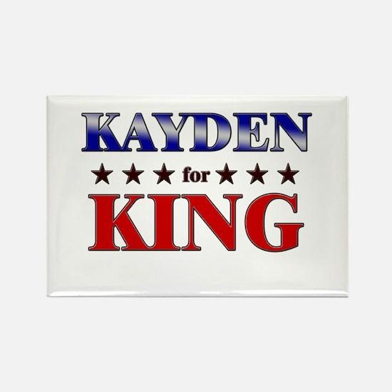 KAYDEN for king Rectangle Magnet