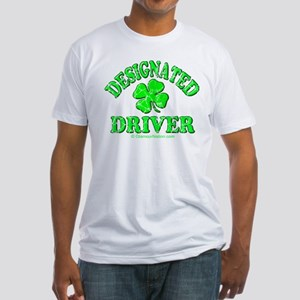 Designated Driver 2 Fitted T-Shirt