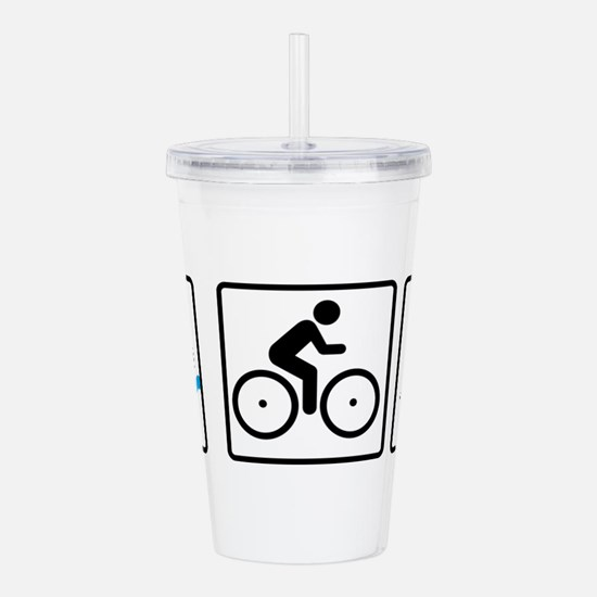 triathlon Acrylic Double-wall Tumbler