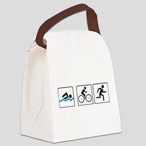 triathlon Canvas Lunch Bag